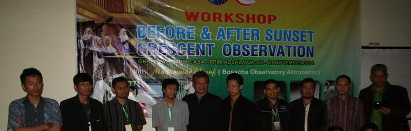 Workshop Hilal 2014
